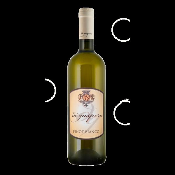 Vino Pinot Bianco DOP in bottiglia