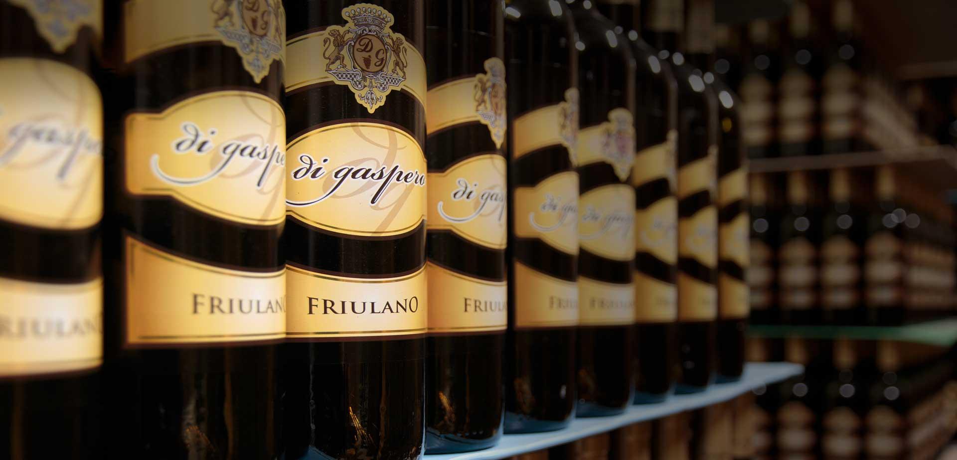 Produzione e vendita vini Società Agricola Di Gaspero