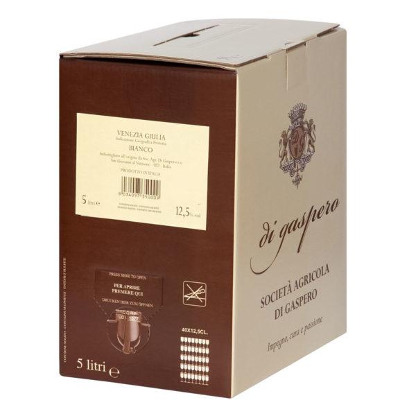 Vino Bianco Bag in Box da 5 Litri