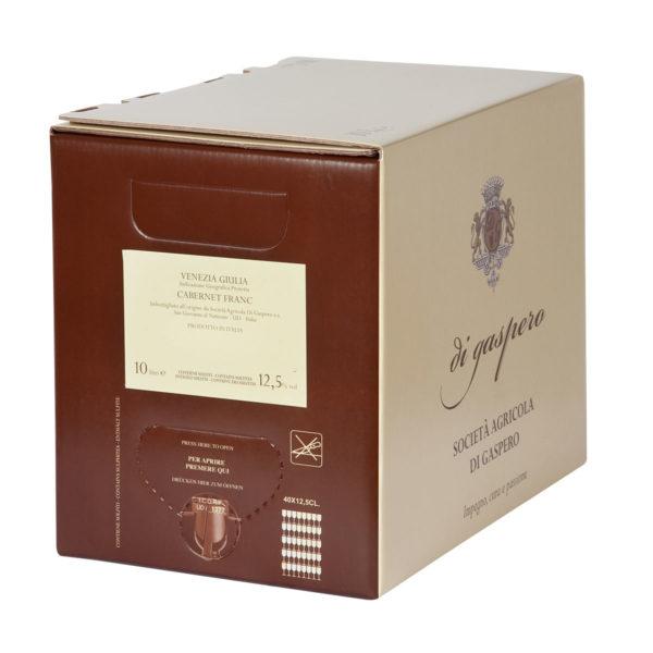 Cabernet Franc Bag in Box da 10 Litri