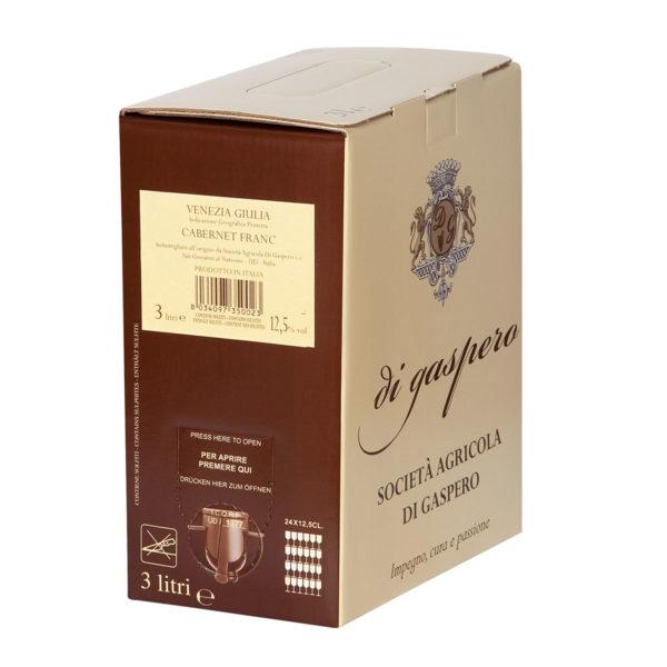 Cabernet Franc Bag in Box da 3 Litri