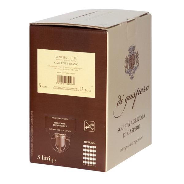 Cabernet Franc Bag in Box da 5 Litri