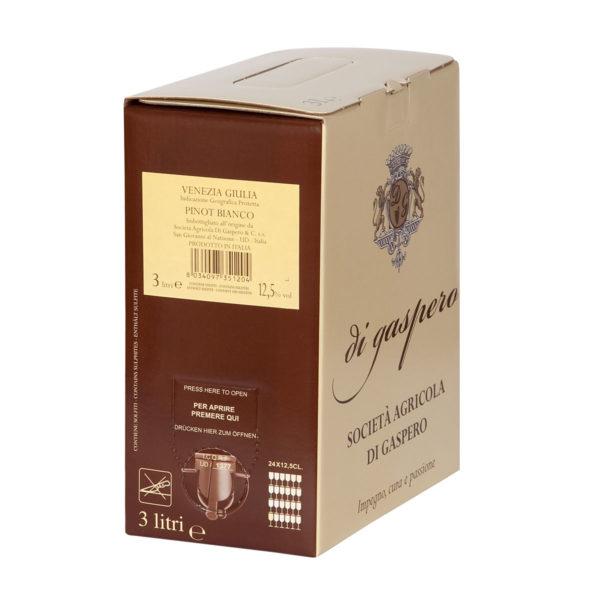 Pinot Bianco Bag in Box da 3 Litri