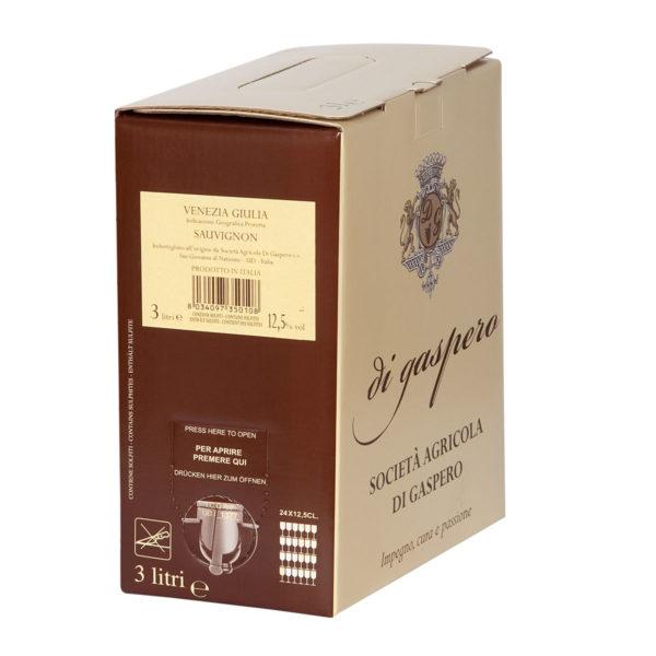 Sauvignon Vino Bianco IGP Bag in Box da 3 Litri